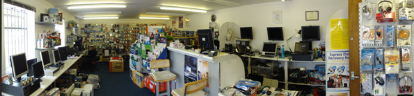 Wellscope has an extensive shop and showroom